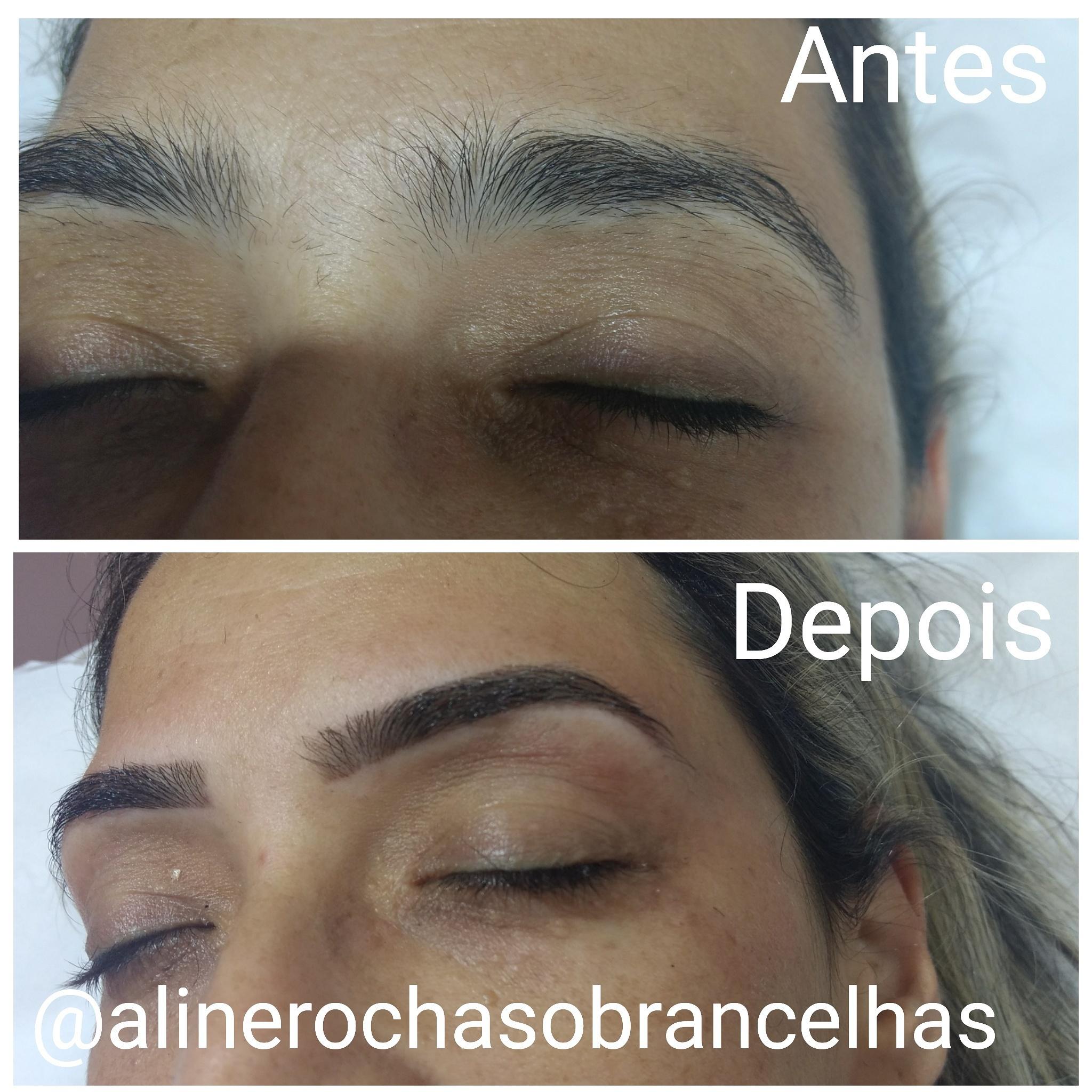 Design feminino estética designer de sobrancelhas micropigmentador(a) depilador(a)