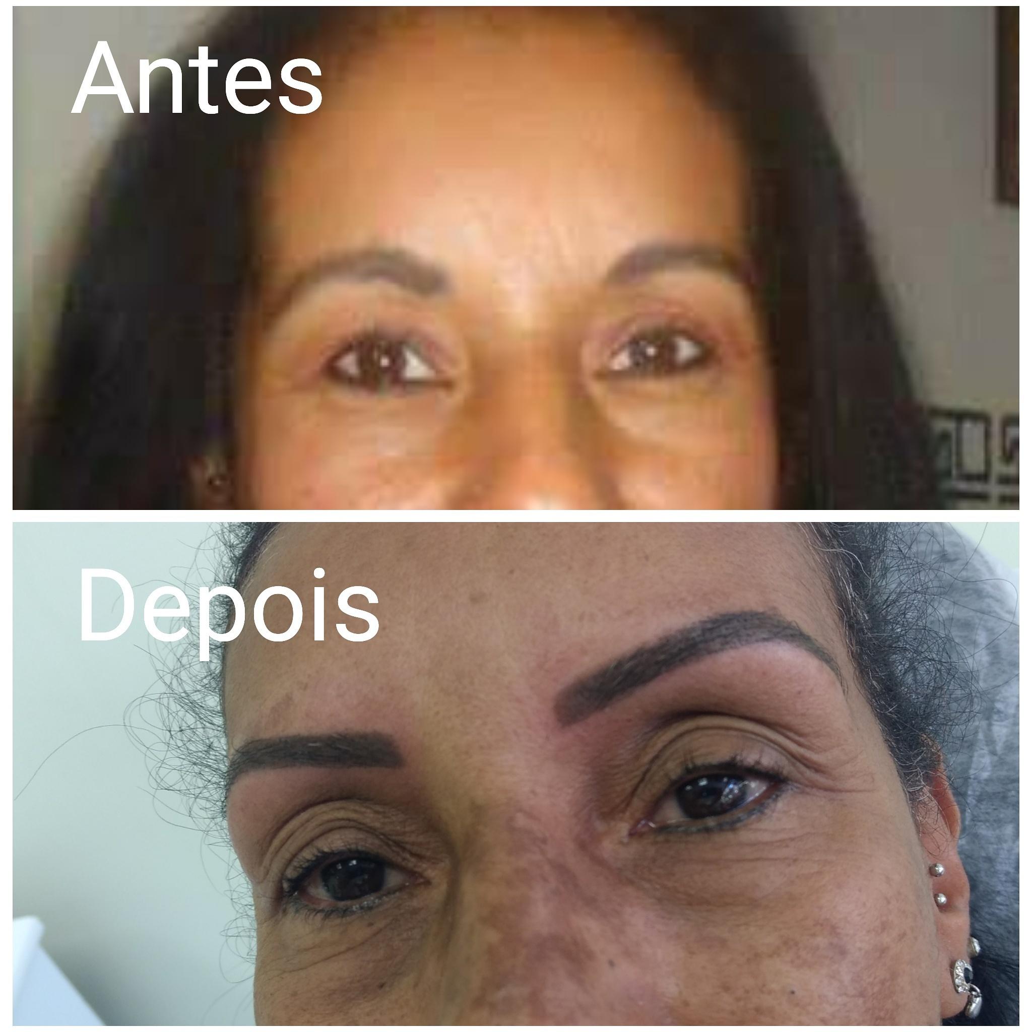 Correção de trabalho feito por outra profissão. #micropigmentaçao #correçao estética designer de sobrancelhas micropigmentador(a) depilador(a)