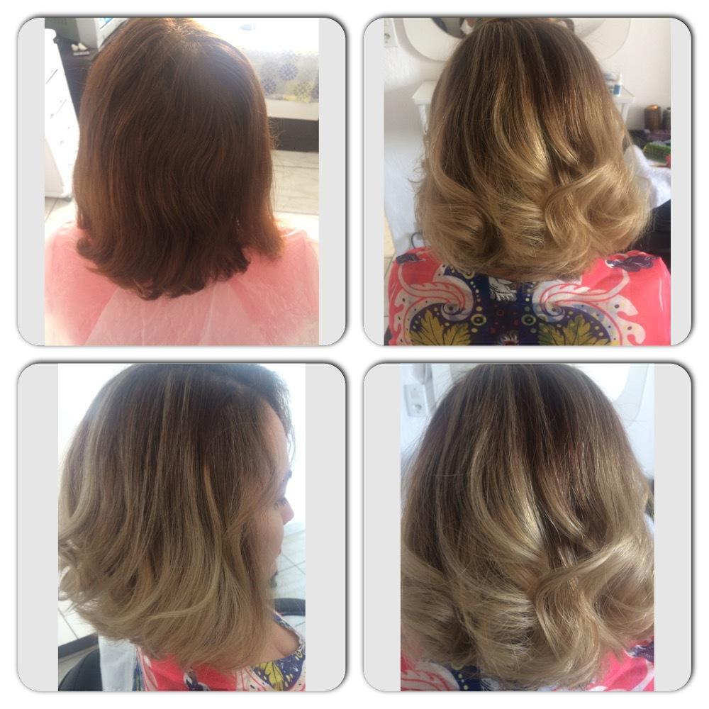 Reflexos! cabelo cabeleireiro(a)