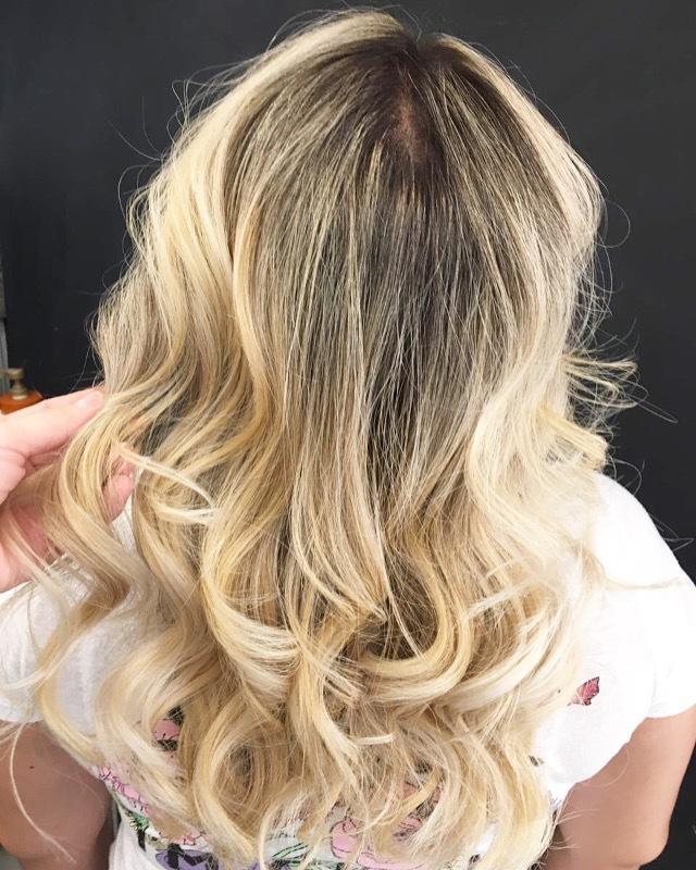 Loiro  #ombre  #blond #loreal #loiras cabelo cabeleireiro(a)