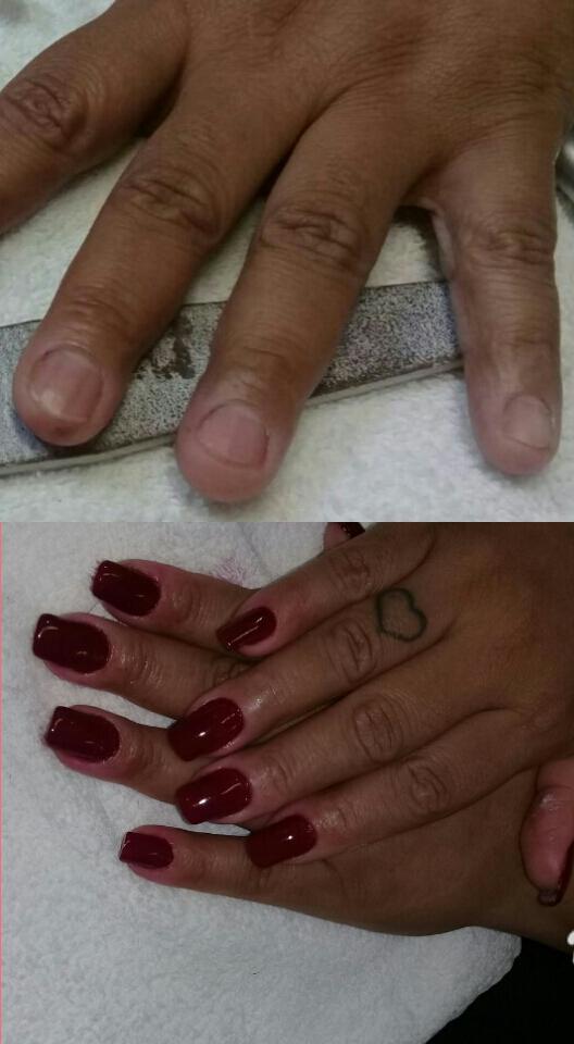 Acrigel , alongamento de unhas amor eterno ! ❤ unha manicure e pedicure