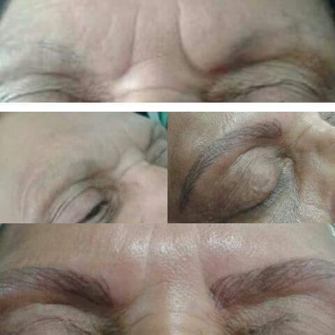 Fio a fio 2 sessões  estética cabeleireiro(a) designer de sobrancelhas micropigmentador(a)