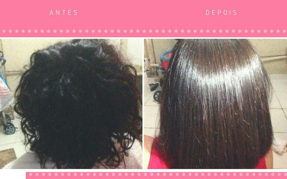 Progressiva cabelo estudante (cabeleireiro) designer de sobrancelhas