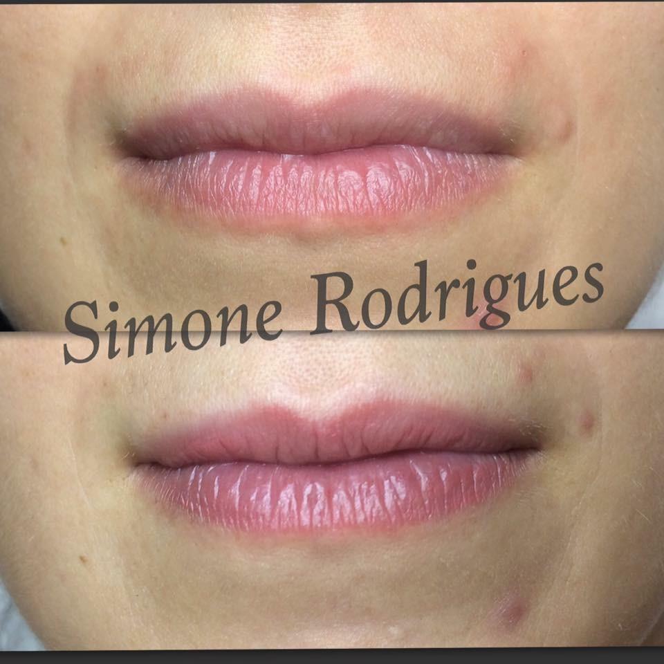 Micropigmentaçao labial  estética designer de sobrancelhas esteticista depilador(a) micropigmentador(a)