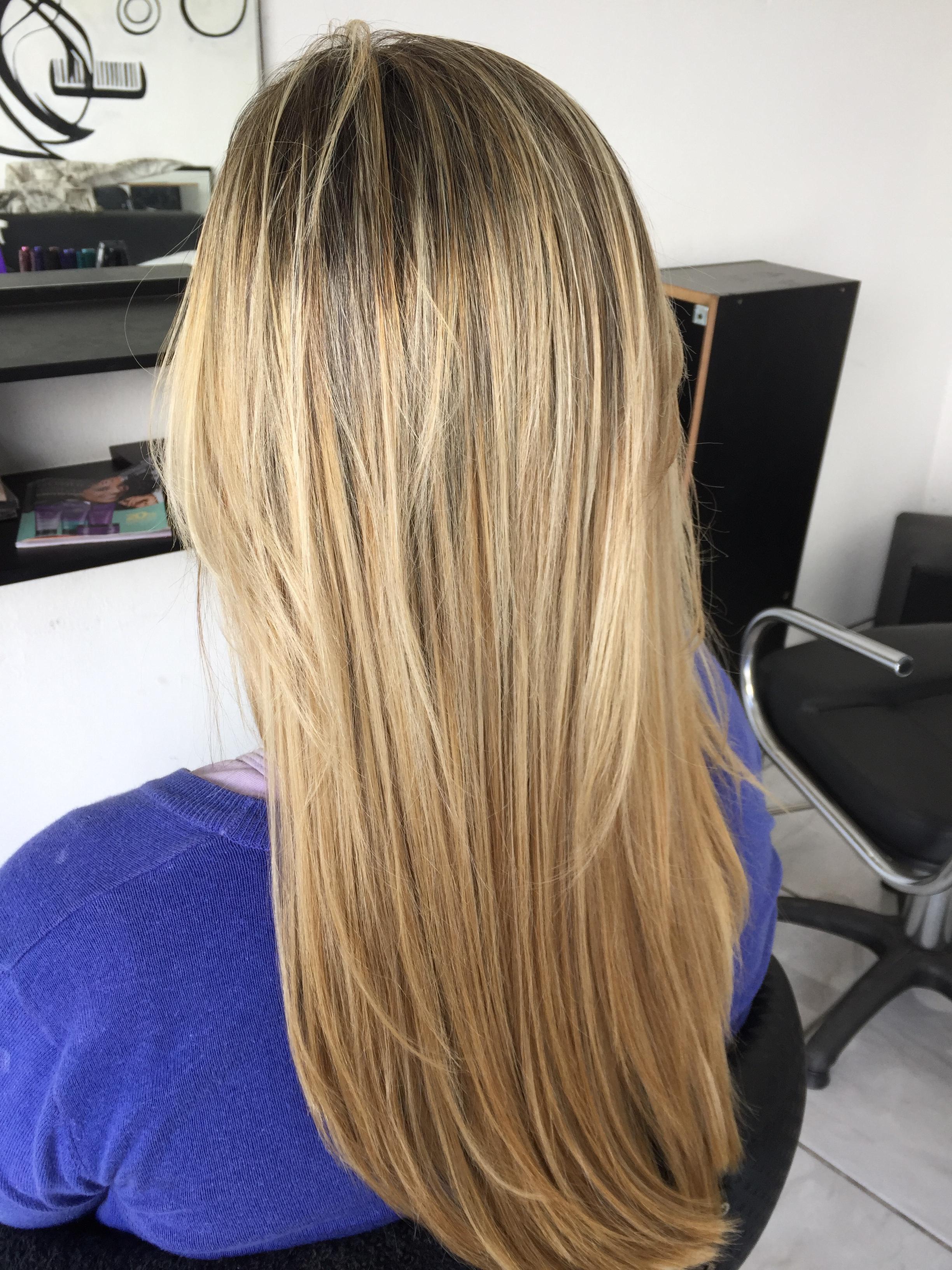 Depois  cabelo auxiliar cabeleireiro(a) cabeleireiro(a)