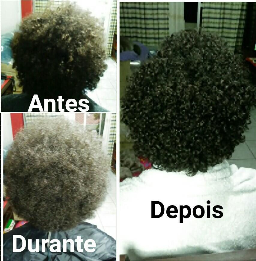 Corte afro, para leveza e volume, sem tirar definição cabelo cabeleireiro(a)