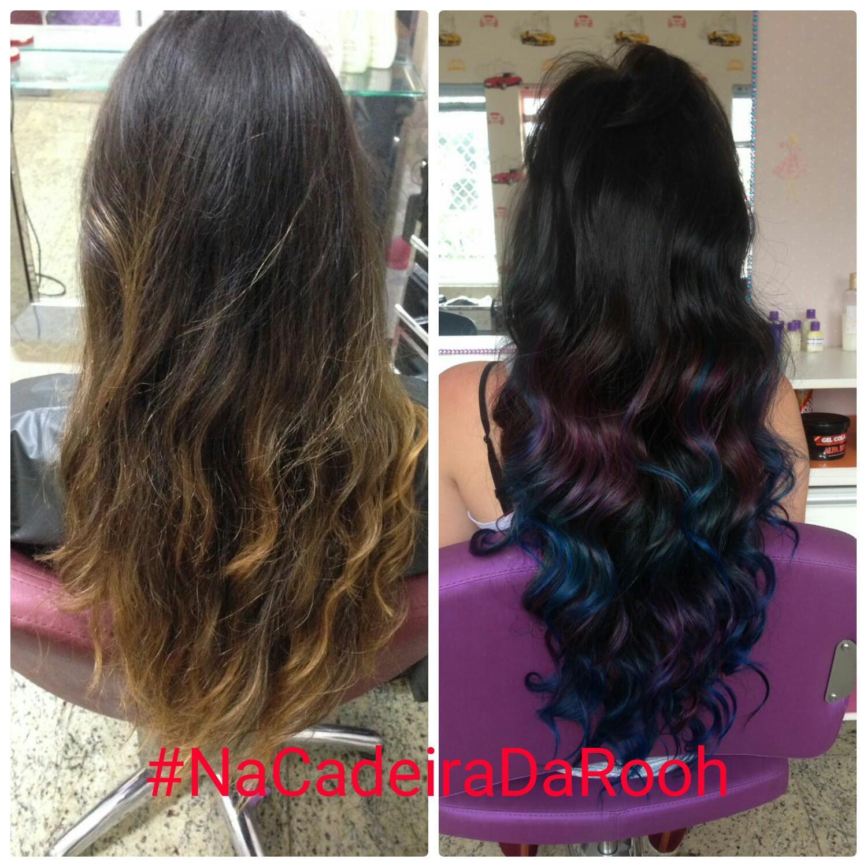 #colorido #hair #inlove cabelo auxiliar cabeleireiro(a) cabeleireiro(a) designer de sobrancelhas