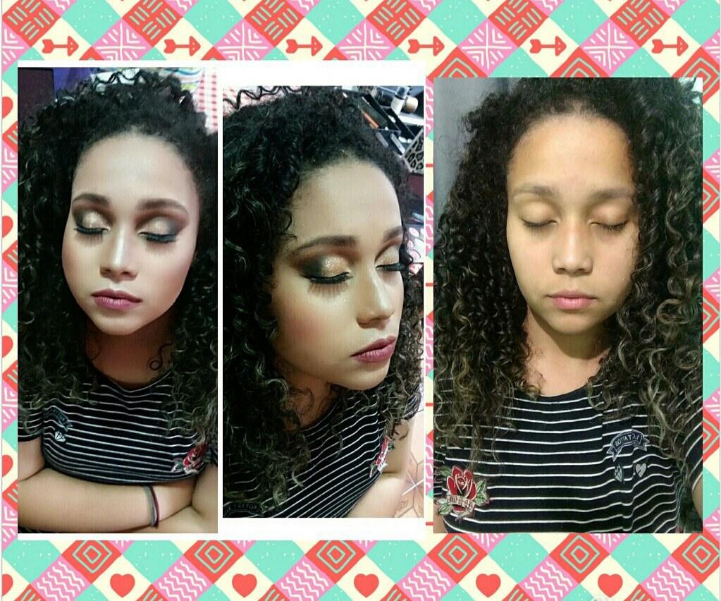 Byanca linda! #16aninhos #morphe #ÍNDICETOKYO #cacheada  maquiagem maquiador(a) maquiador(a) maquiador(a)