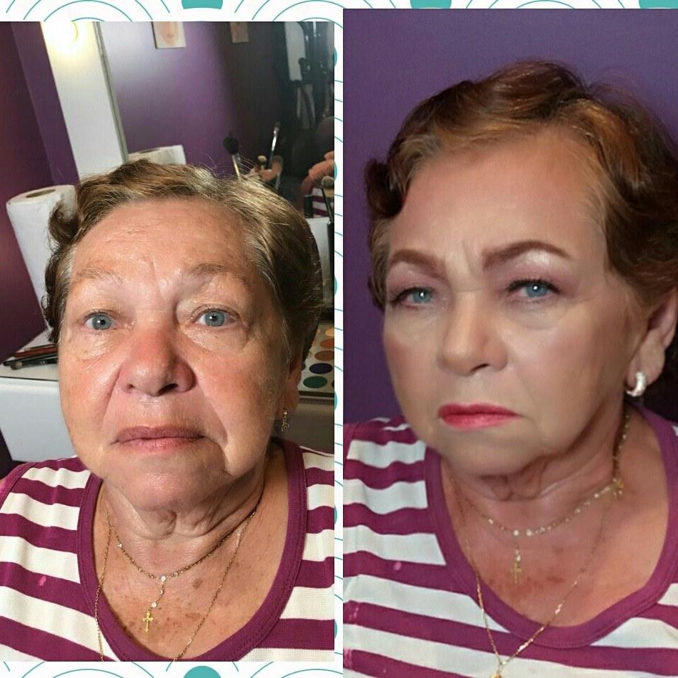 #antesedepois #pelemadura  maquiagem maquiador(a) maquiador(a) maquiador(a)