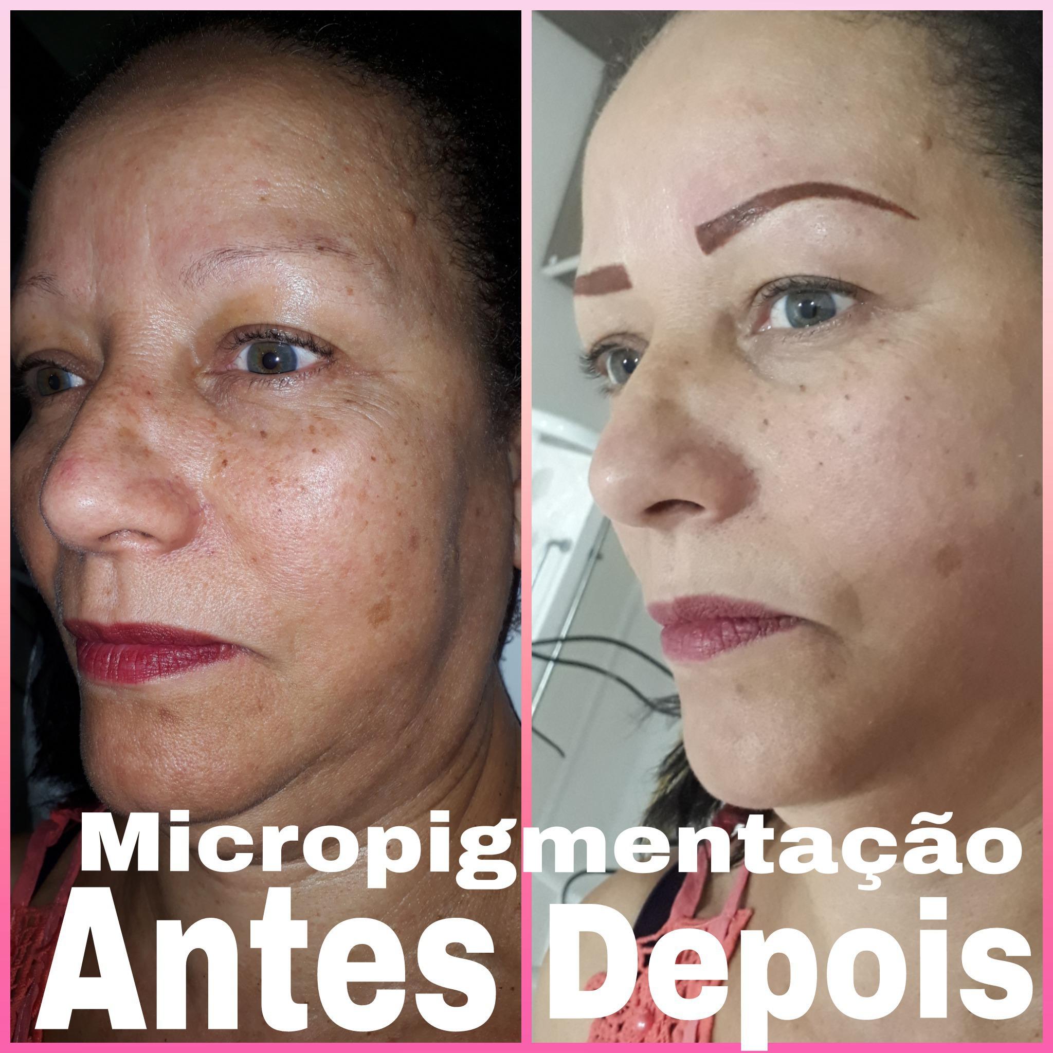 Micropigmentação técnica Esfumada micropigmentador(a) cabeleireiro(a) depilador(a) designer de sobrancelhas