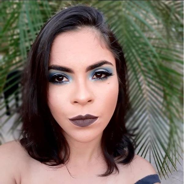 #maquiagem, #makeup, #blue maquiagem maquiador(a)