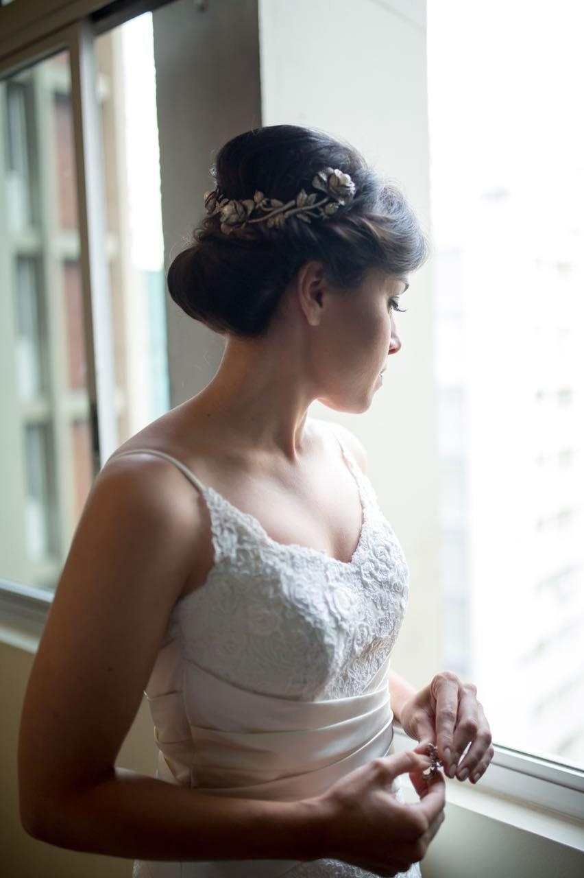 Penteado de Noiva  cabelo maquiador(a) designer de sobrancelhas