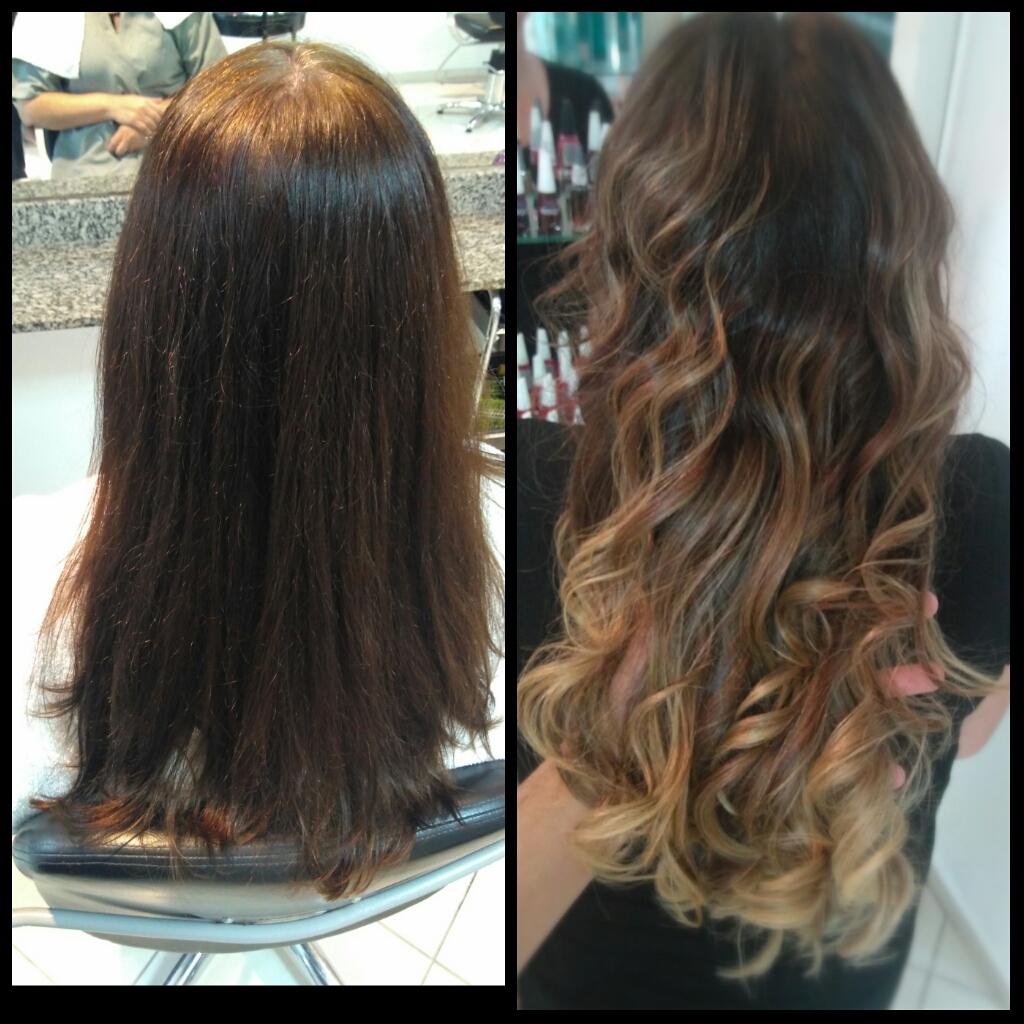 #Ombrehair cabelo cabeleireiro(a) maquiador(a) designer de sobrancelhas visagista