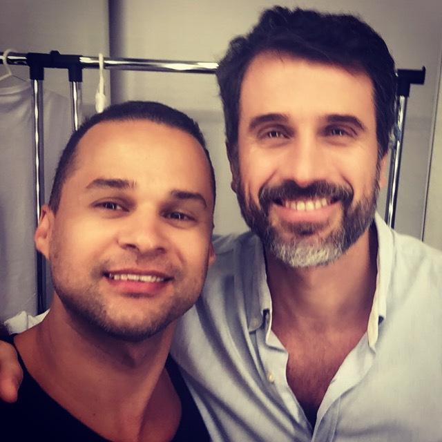 Campanha para UCE com este ator maravilhoso !!! Make & hair  maquiagem maquiador(a) cabeleireiro(a)