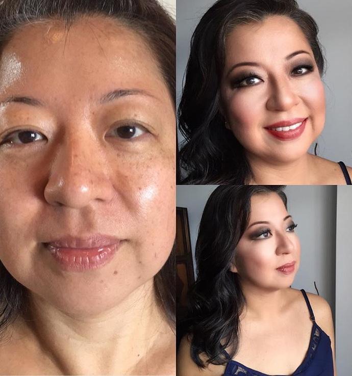 Make oriental & hair maquiagem maquiador(a) cabeleireiro(a)