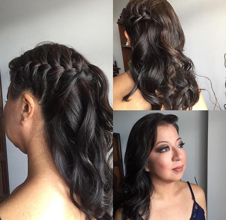 Traçam lateral com babyliss cabelo maquiador(a) cabeleireiro(a)