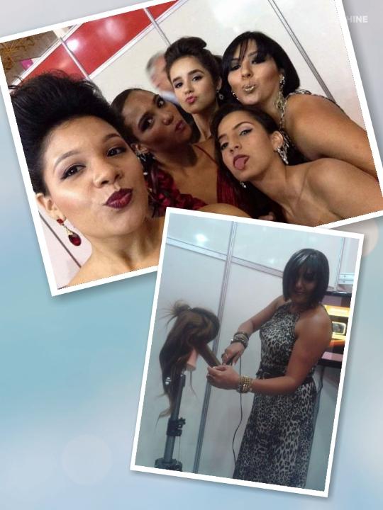 Produção  Maquiagens  Preparação de modelos   Para Hair Brasil maquiagem cabeleireiro(a) maquiador(a) stylist