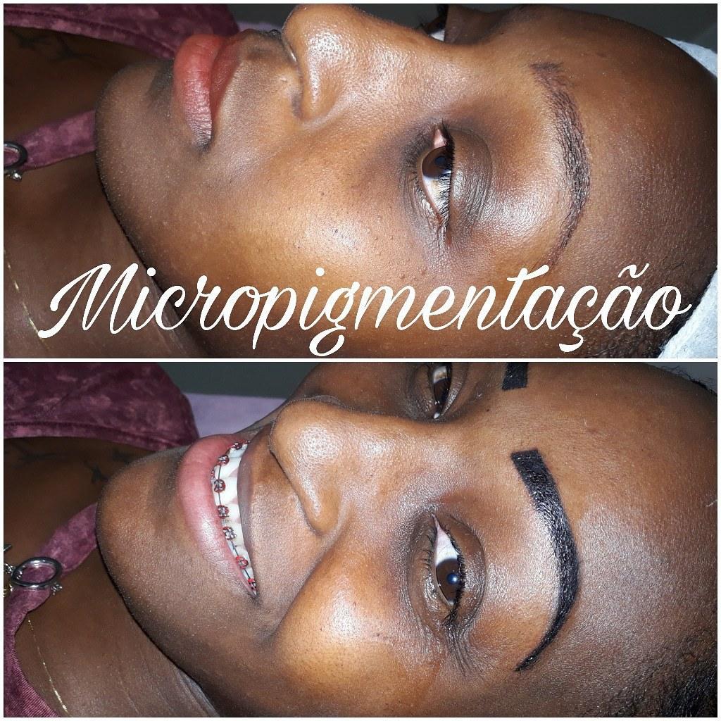 Micropigmentação estética micropigmentador(a) cabeleireiro(a) depilador(a) designer de sobrancelhas
