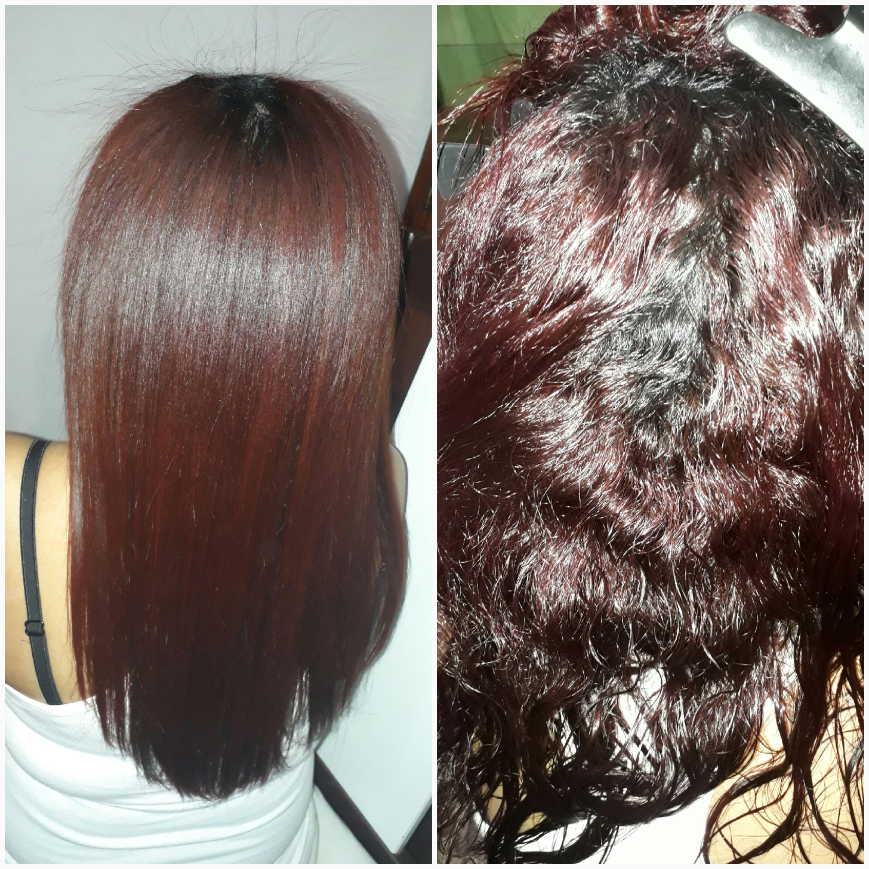 Progressiva. cabelo auxiliar cabeleireiro(a) recepcionista