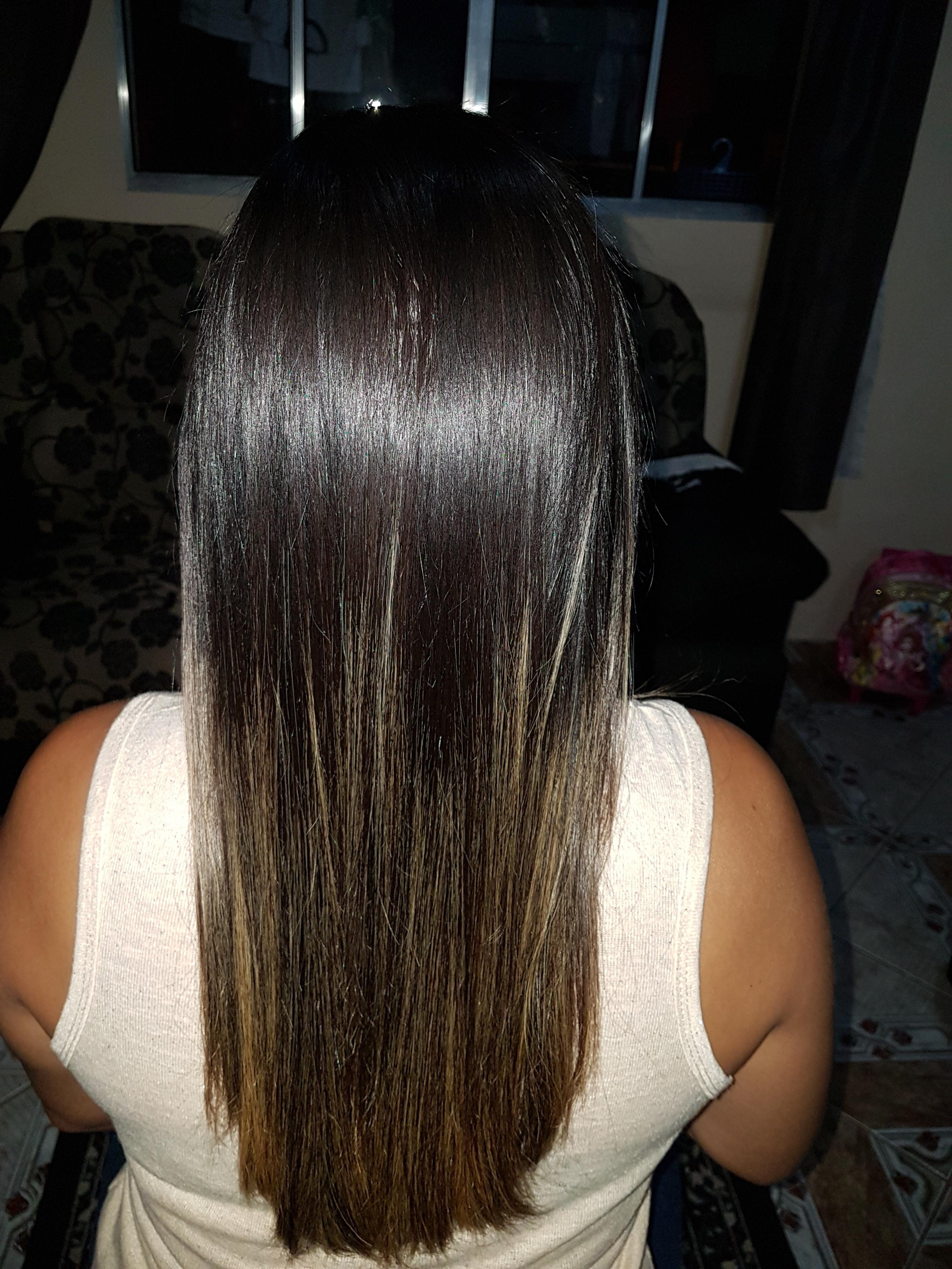 Botox  cabelo auxiliar cabeleireiro(a) recepcionista