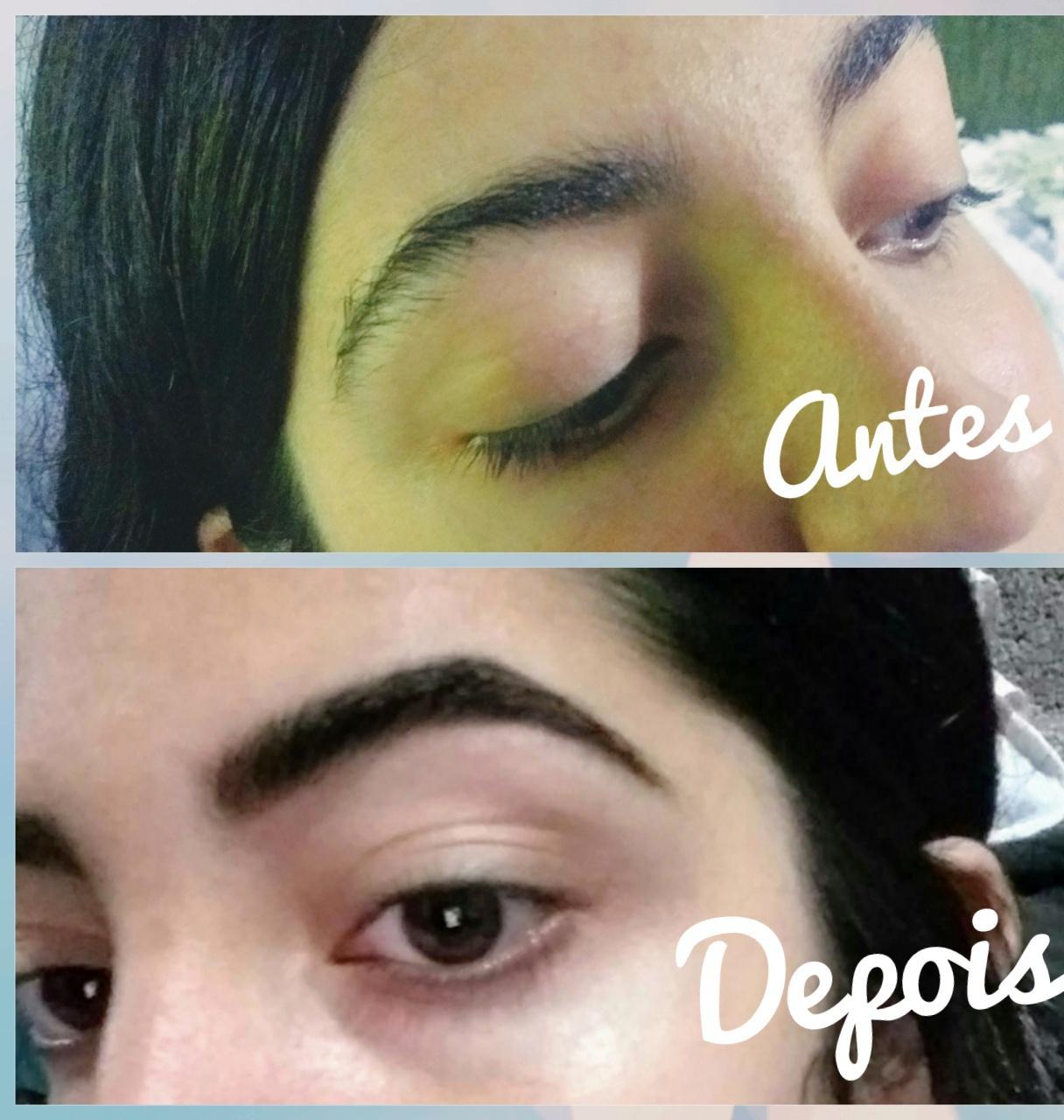Design de sobrancelha e henna designer de sobrancelhas