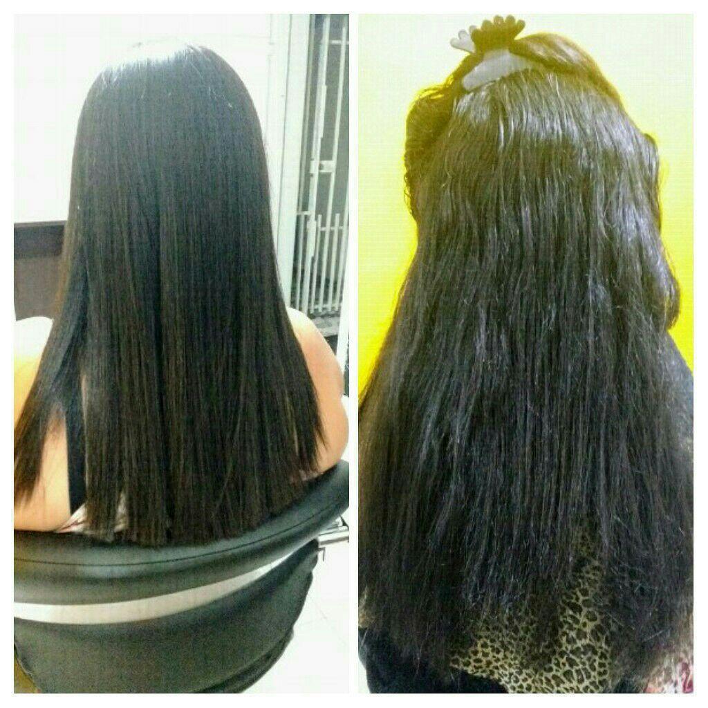 Corte e Progressiva cabelo estudante (cabeleireiro)