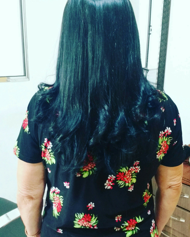 Corte, coloração e escova cabelo estudante (cabeleireiro)