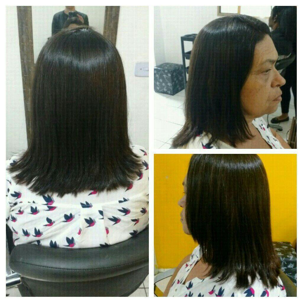 Coloração e corte cabelo estudante (cabeleireiro)