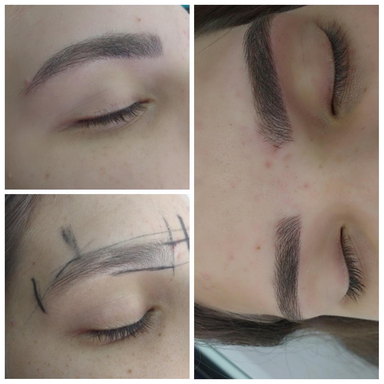 Micropigmentação fio a fio 😍 outros designer de sobrancelhas maquiador(a) micropigmentador(a)