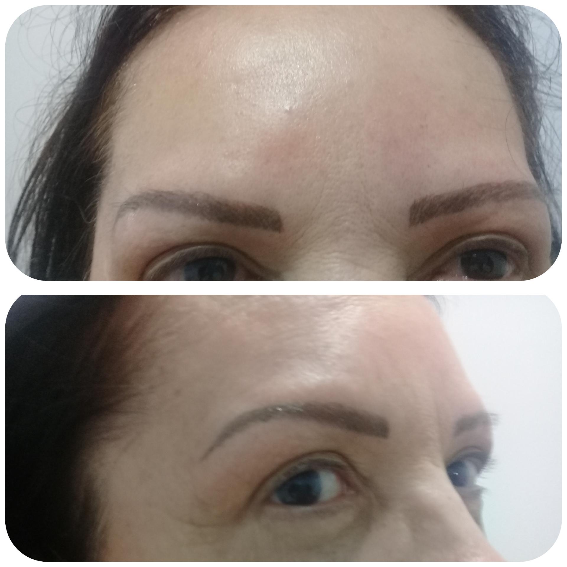 Micropigmentação fio a fio  micropigmentador(a) cabeleireiro(a) maquiador(a)