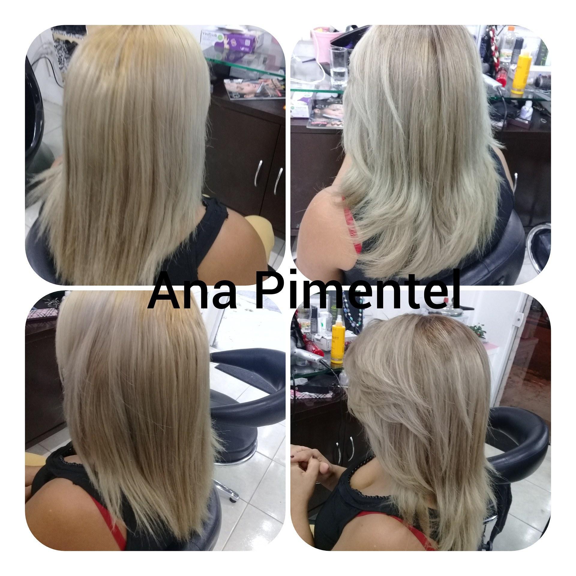 Antes e depois #cortesloiros e correção de cor micropigmentador(a) cabeleireiro(a) maquiador(a)