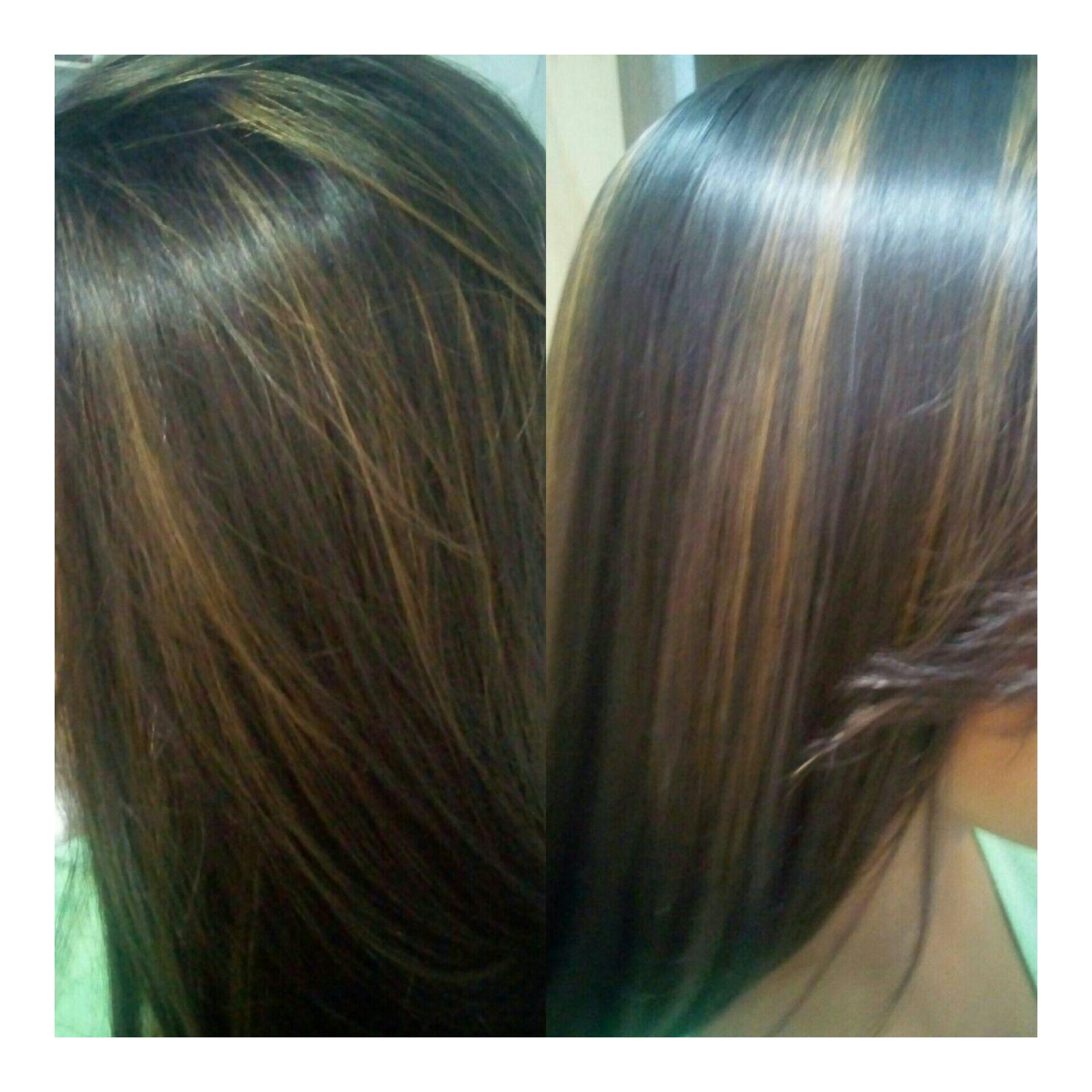 Morena iluminada 😍😍 cabelo auxiliar cabeleireiro(a)