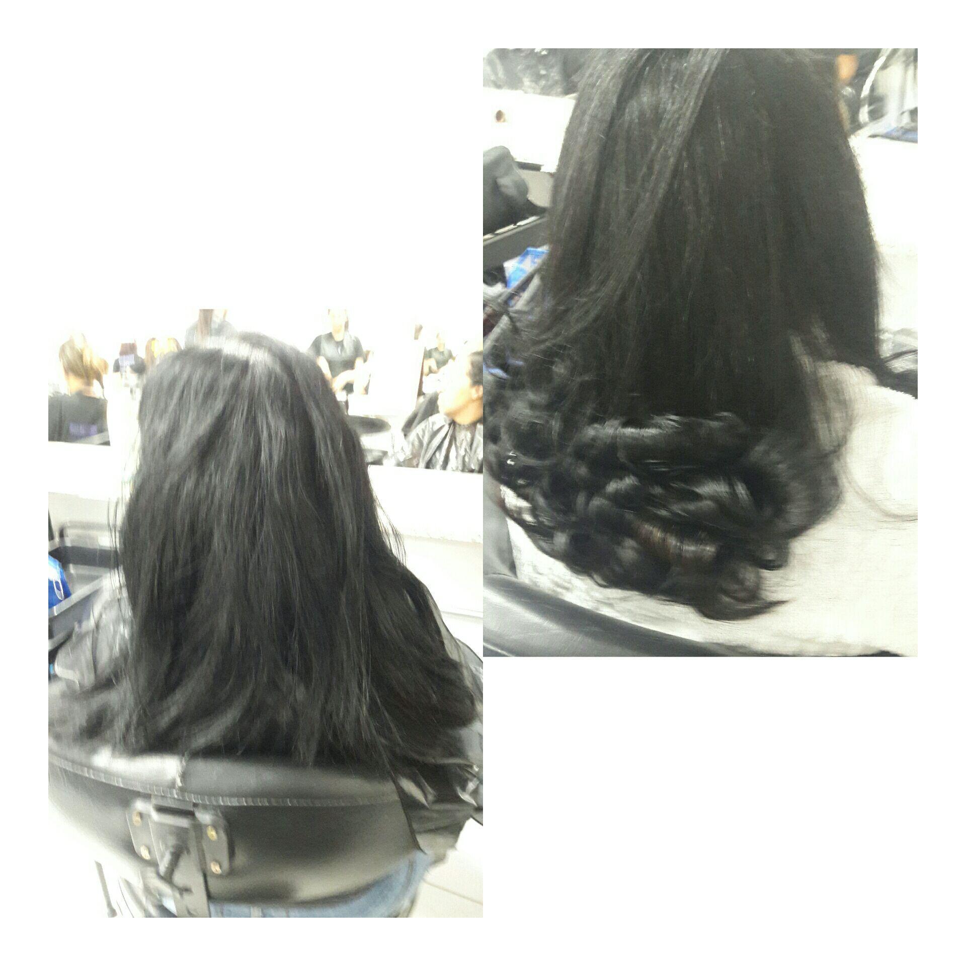 Escova+Coloração 1.0 cabelo auxiliar cabeleireiro(a)
