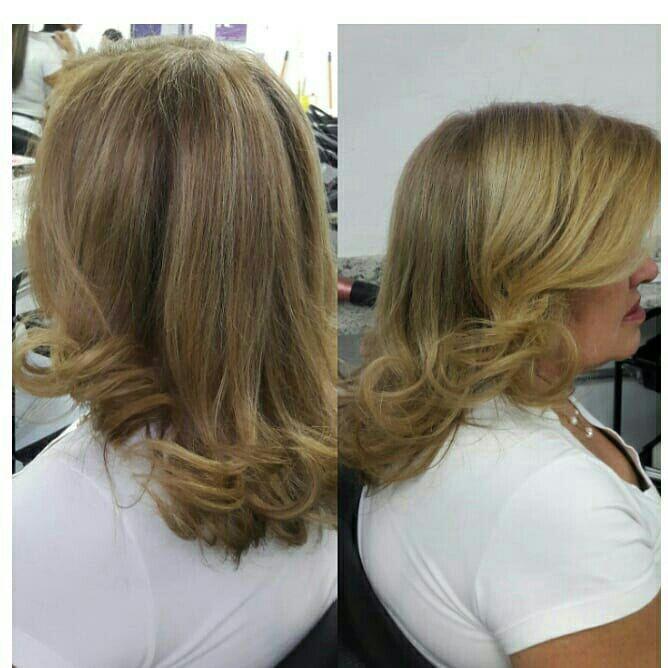 Escova❤ cabelo auxiliar cabeleireiro(a)