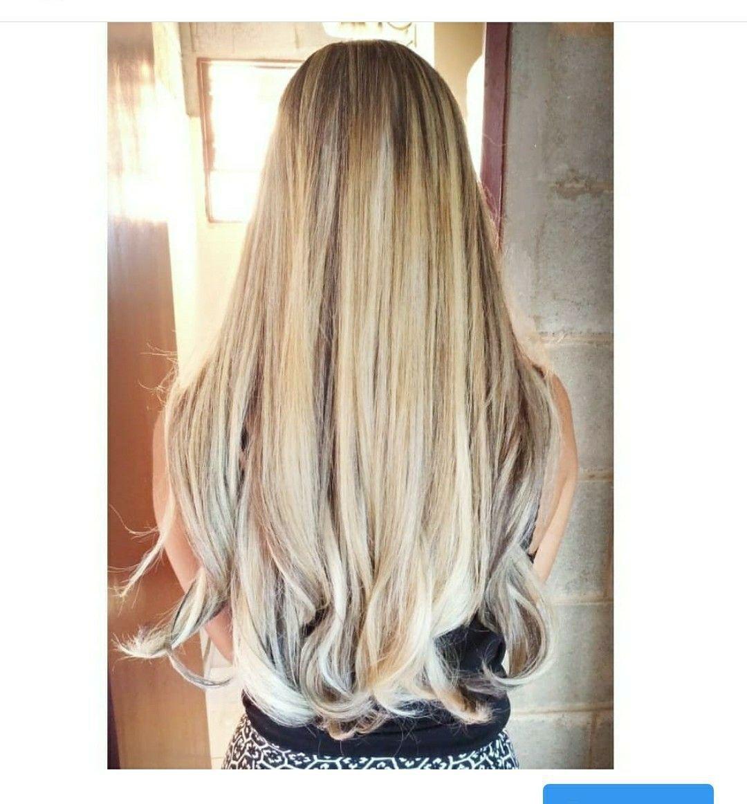 Mechas em cabelo natural ♥️ cabeleireiro(a)