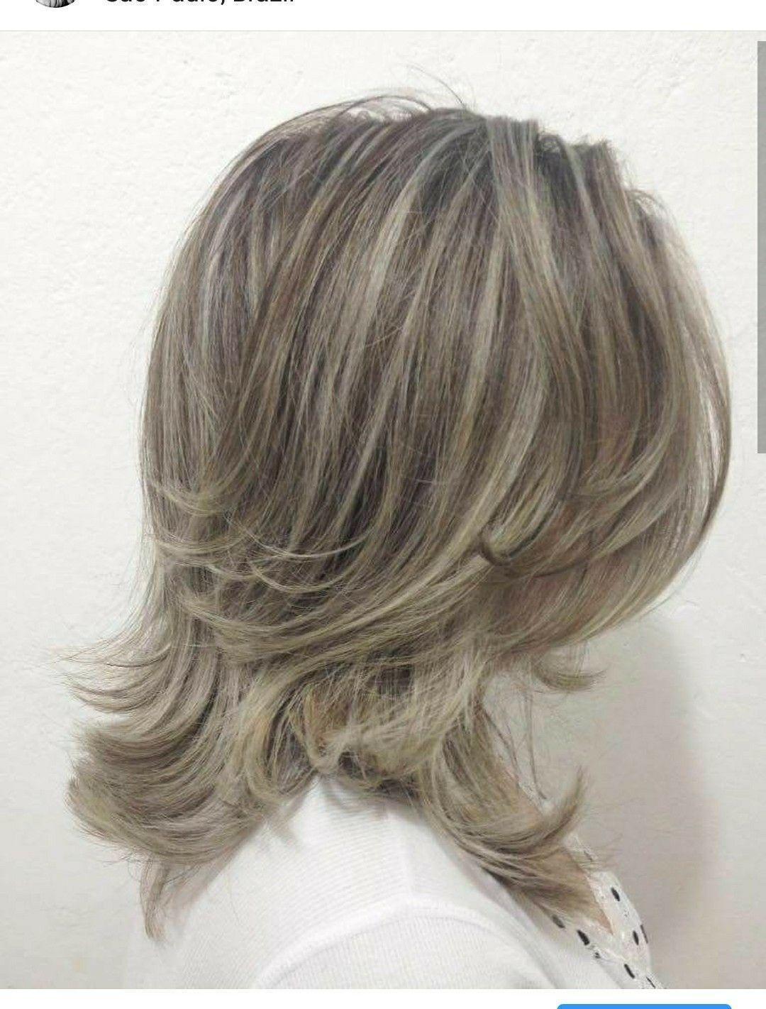 Mechas e corte cabeleireiro(a)