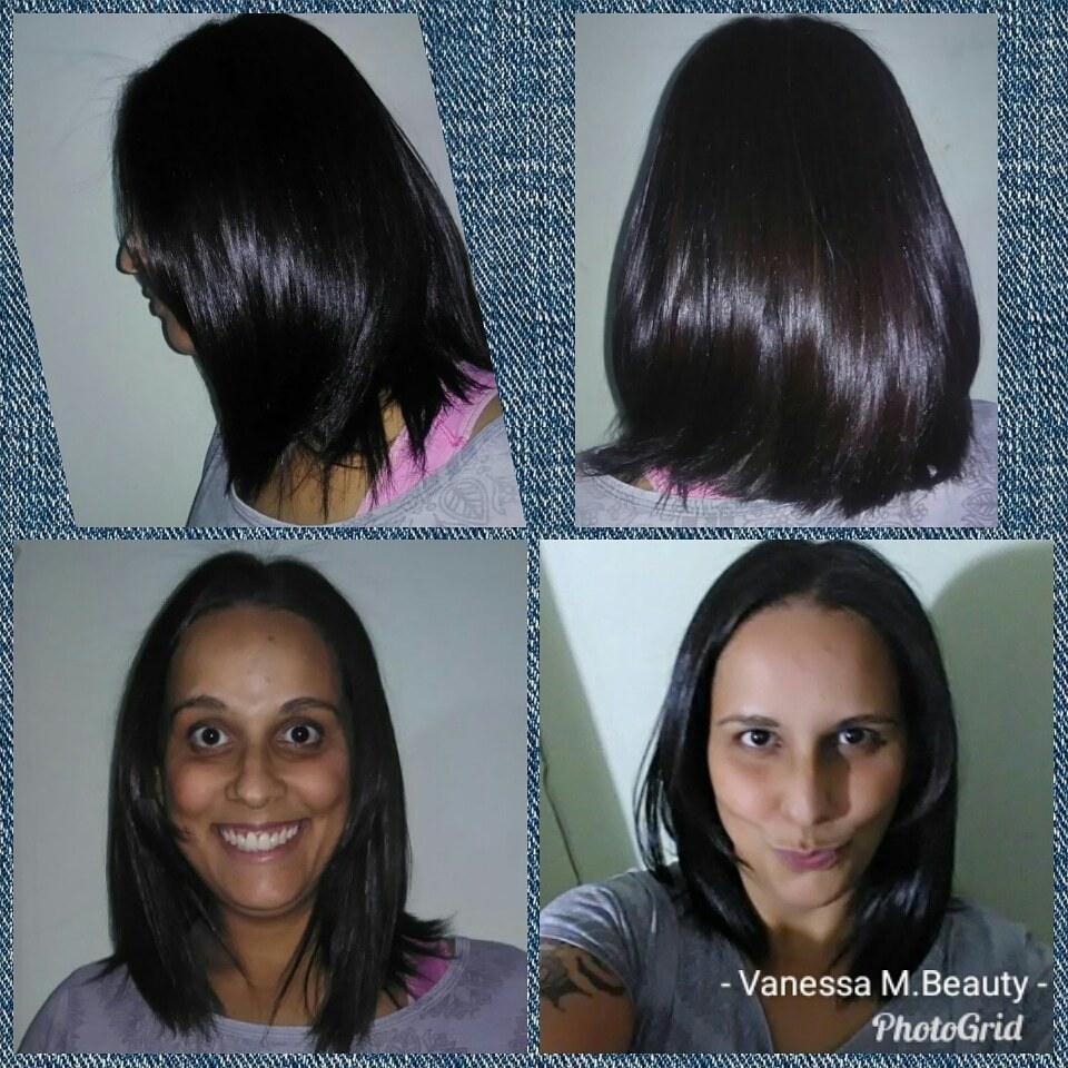 Corte e Botox cabelo auxiliar cabeleireiro(a) designer de sobrancelhas