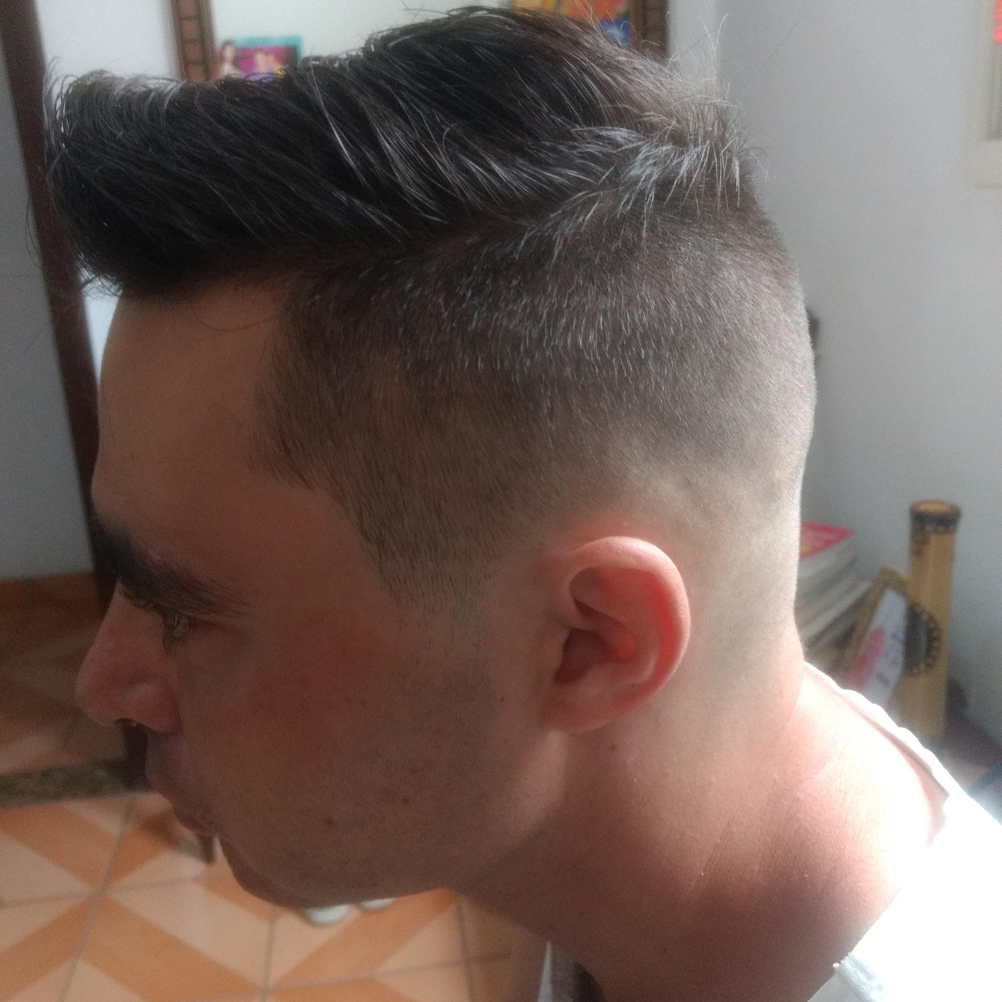 #fade cabelo barbeiro(a)