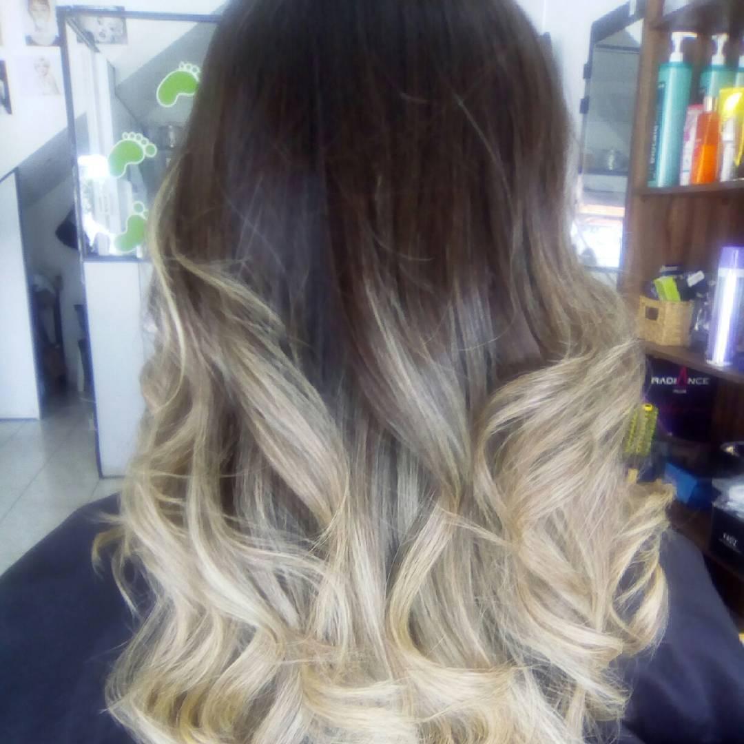 ombrê hair cabelo stylist / visagista
