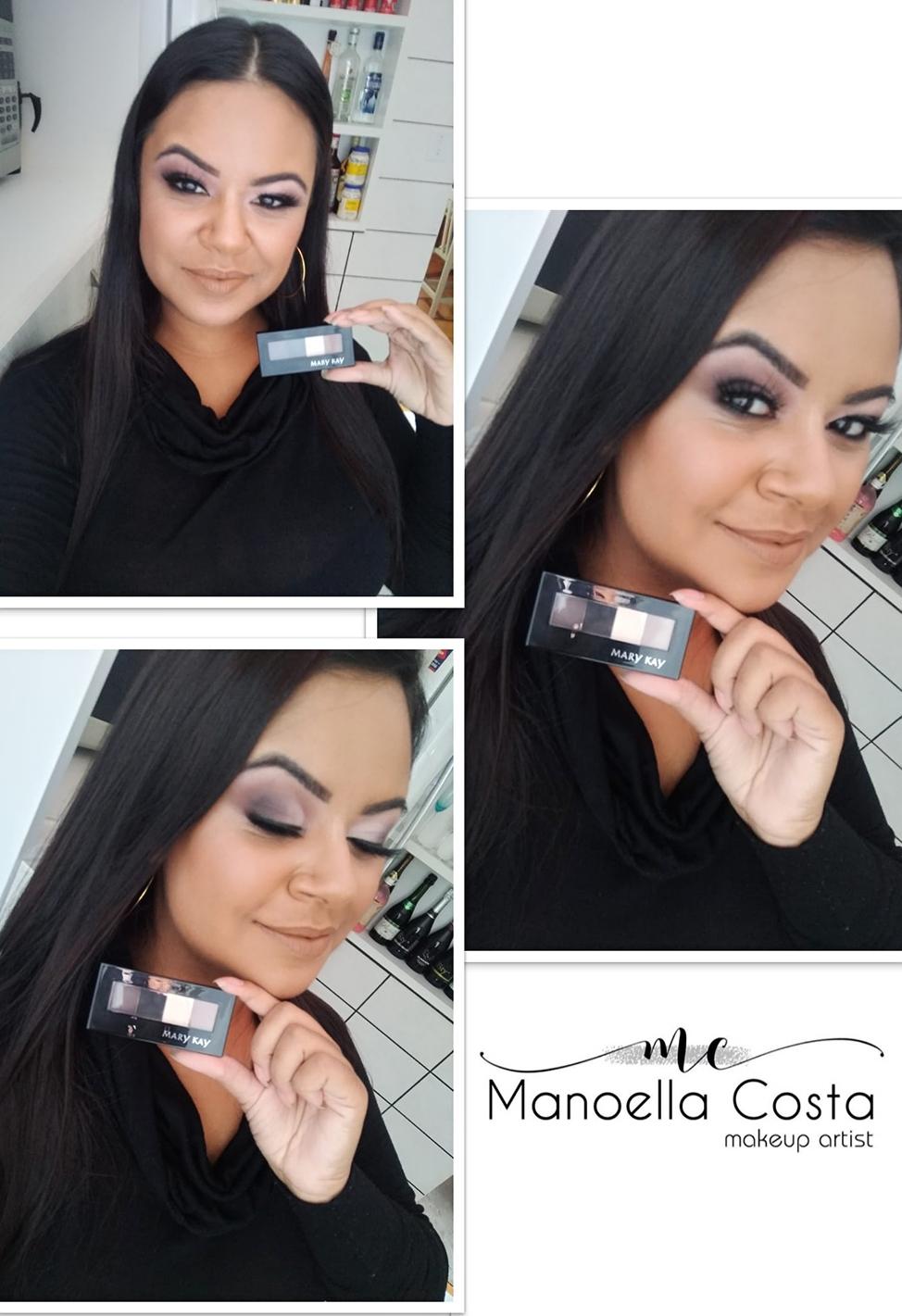 Maquiagem para divulgação da nova paleta #marykay  maquiagem maquiador(a) designer de sobrancelhas