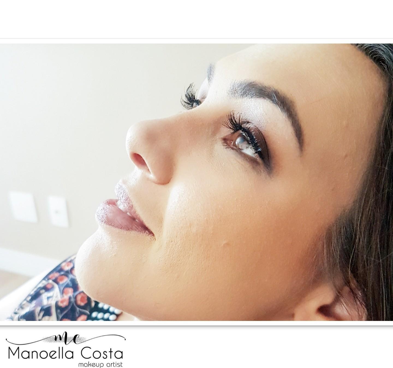 Maquiagem social  maquiagem maquiador(a) designer de sobrancelhas