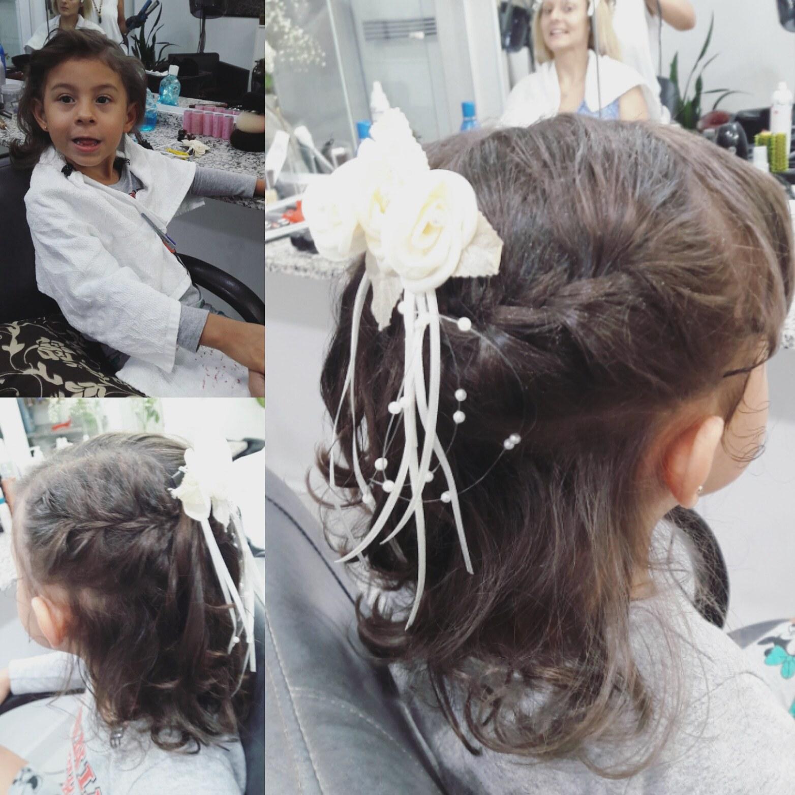 Penteado infantil. #penteados #penteadoinfantil cabelo cabeleireiro(a)