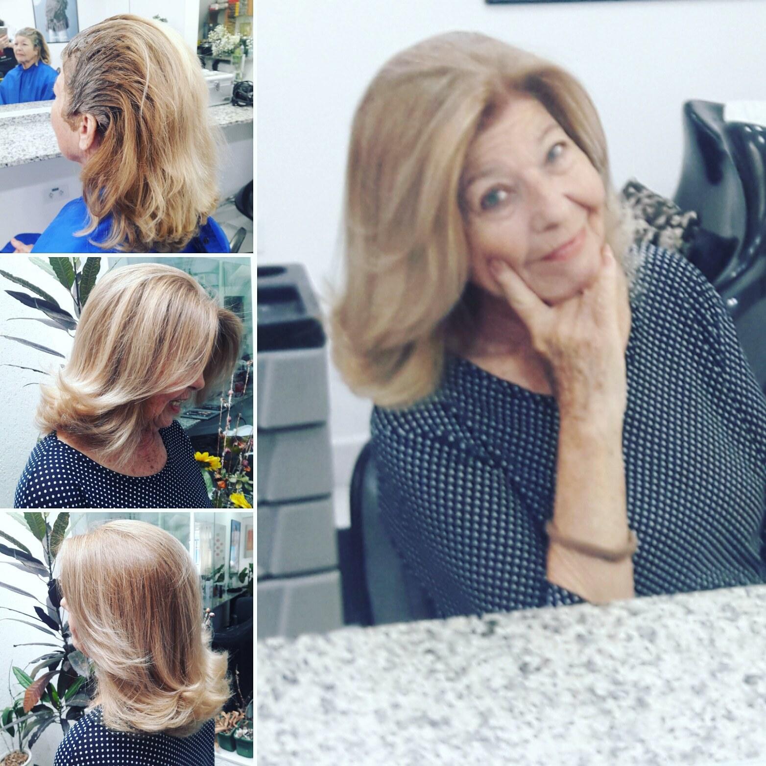 Coloração degradê. #coloracao #hairstyle  cabelo cabeleireiro(a)