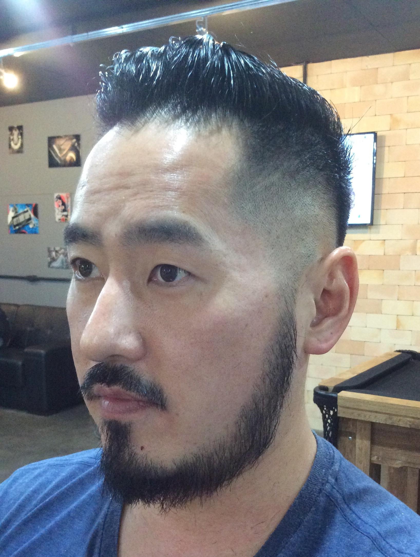 Fade cabelo barbeiro(a)