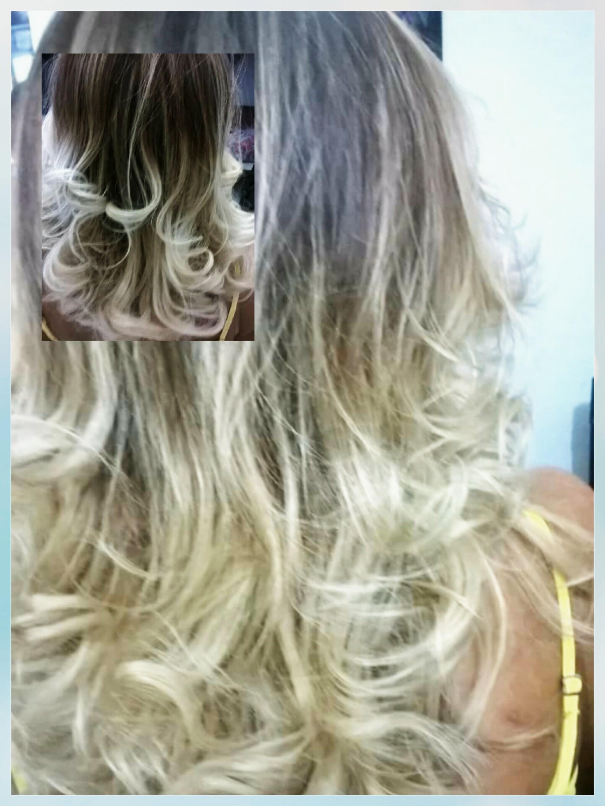 Ombre Hair   cabelo cabeleireiro(a) designer de sobrancelhas