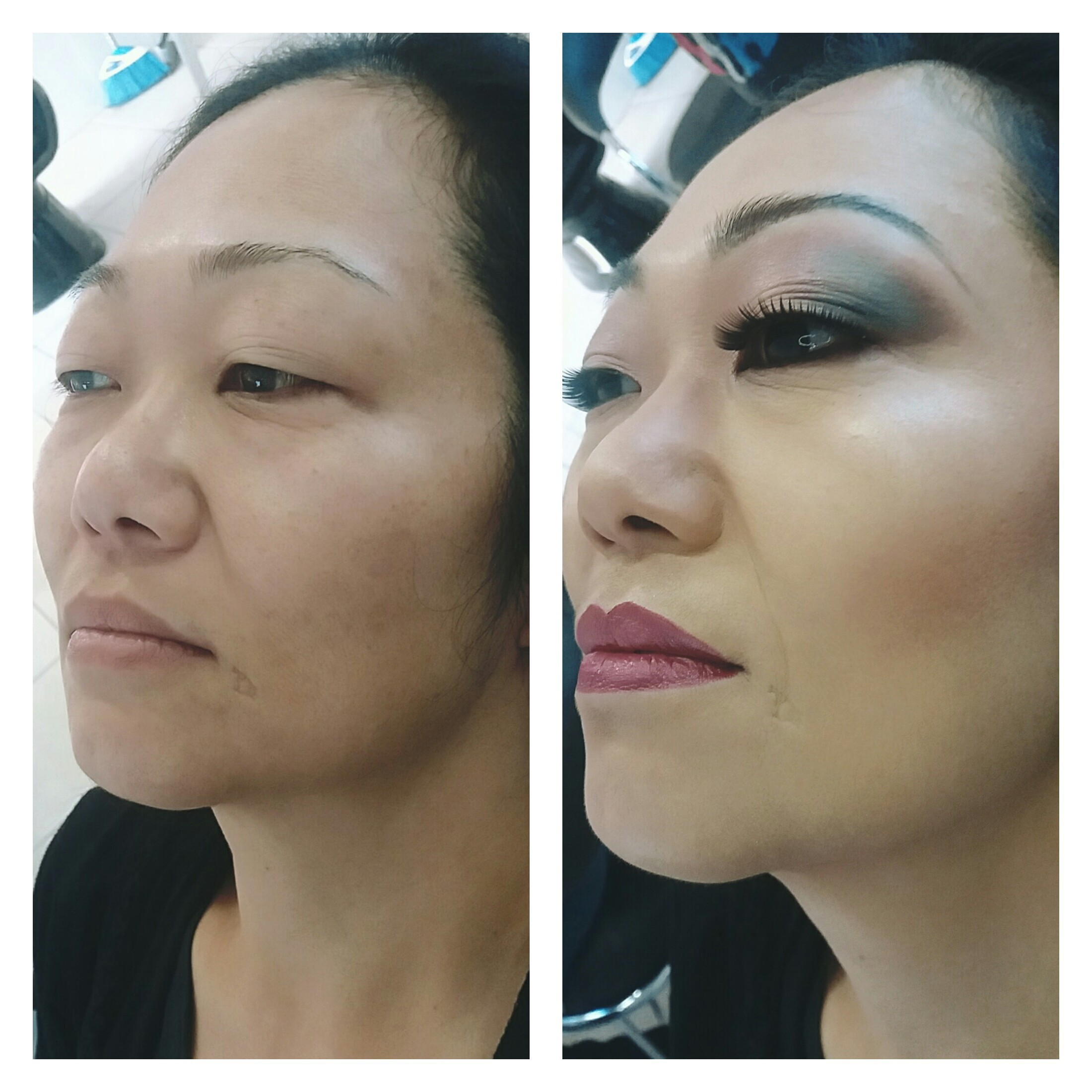 Maquiagem profissional #maquiagemoriental #maquiagemprofissional #lovemakeup  maquiagem