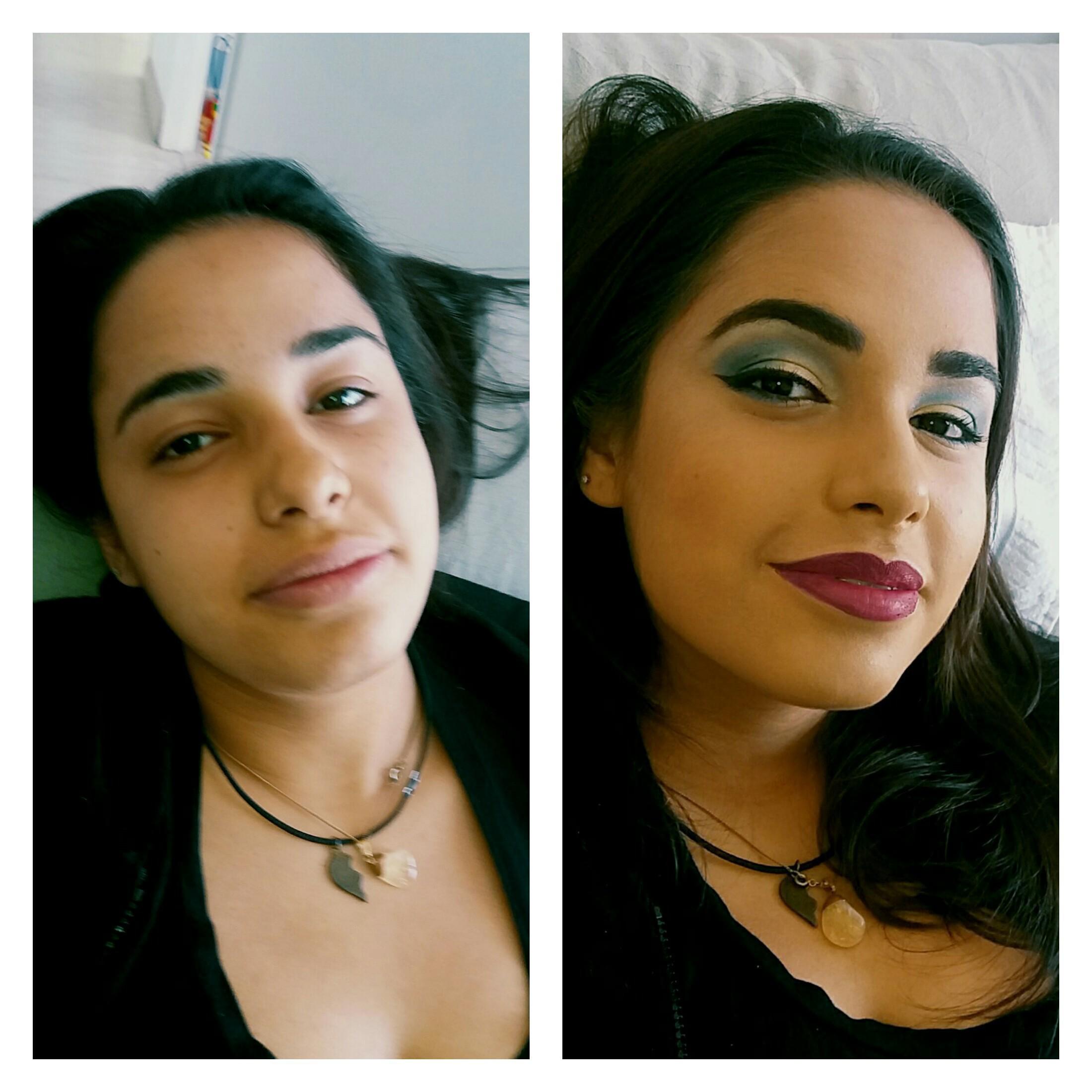 Make festa  maquiagem