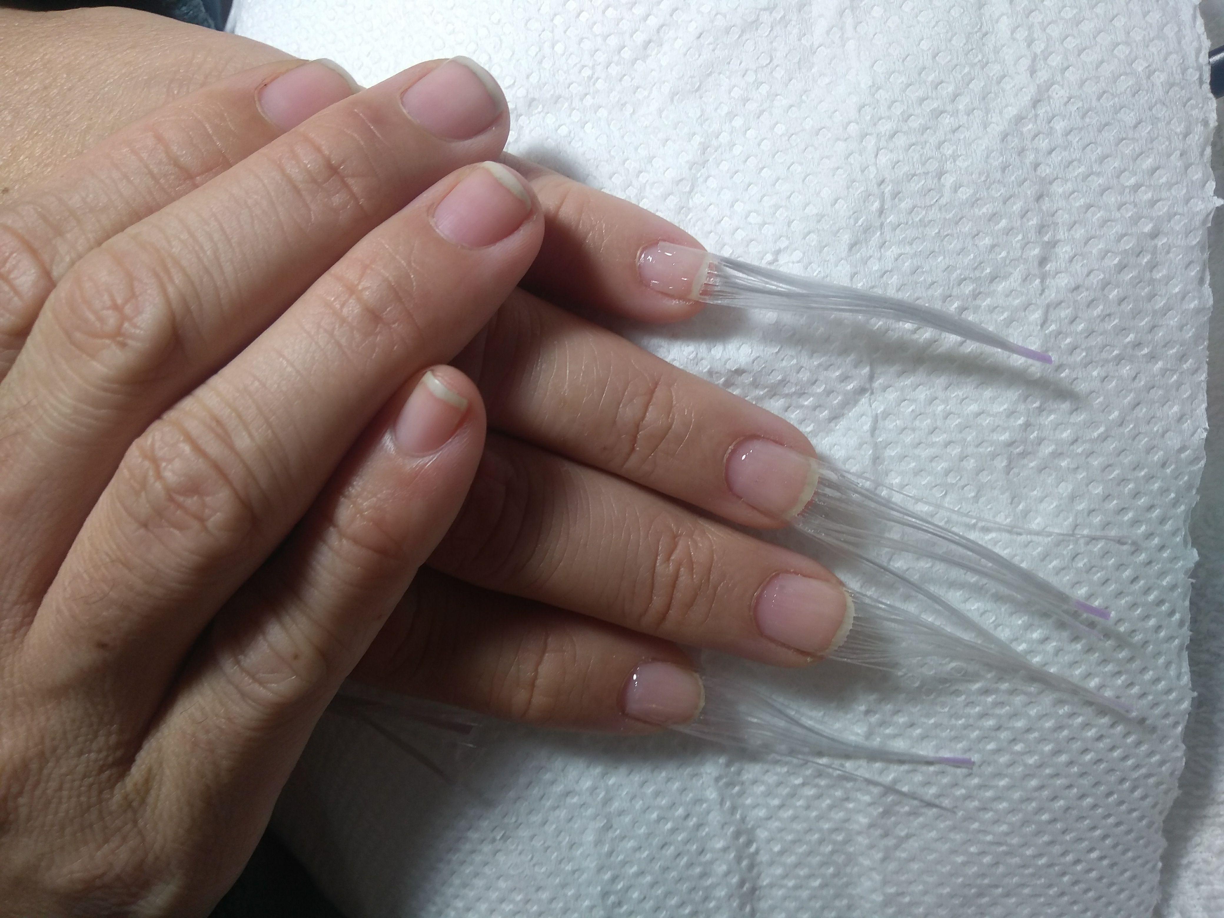 Alongamento de vibra de vidro manicure e pedicure depilador(a) designer de sobrancelhas