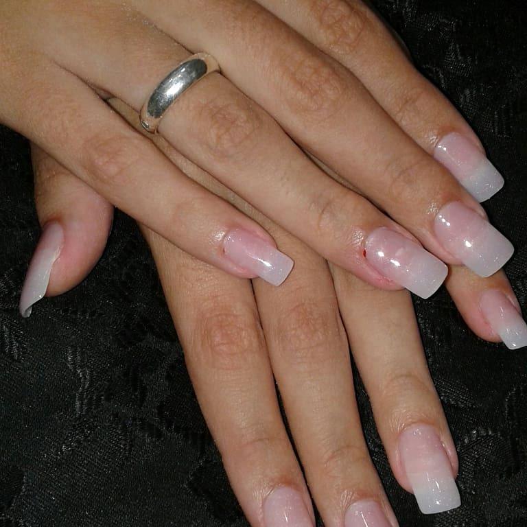 Alongamento de unha em acrigel unha manicure e pedicure depilador(a)