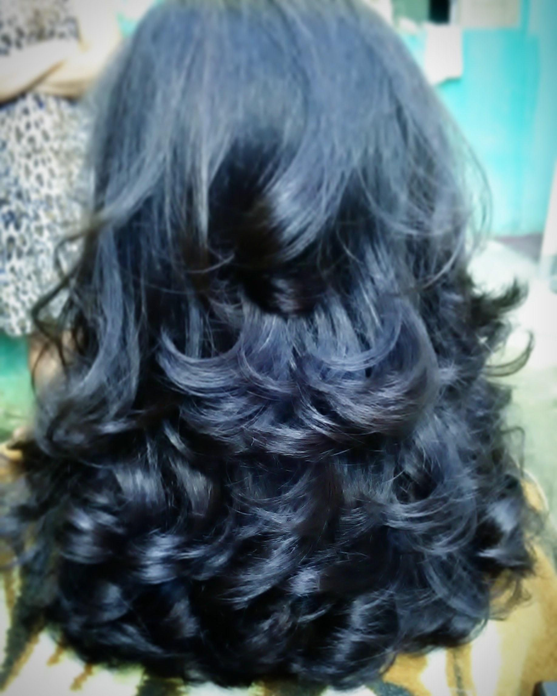 Corte com muuuitas camadas para criar leveza cabelo cabeleireiro(a)